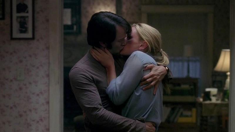Stephen Moyer E Anna Paquin Si Baciano In Una Scena Dell Episodio You Ll Be The Death Of Me Della Serie True Blood 97819