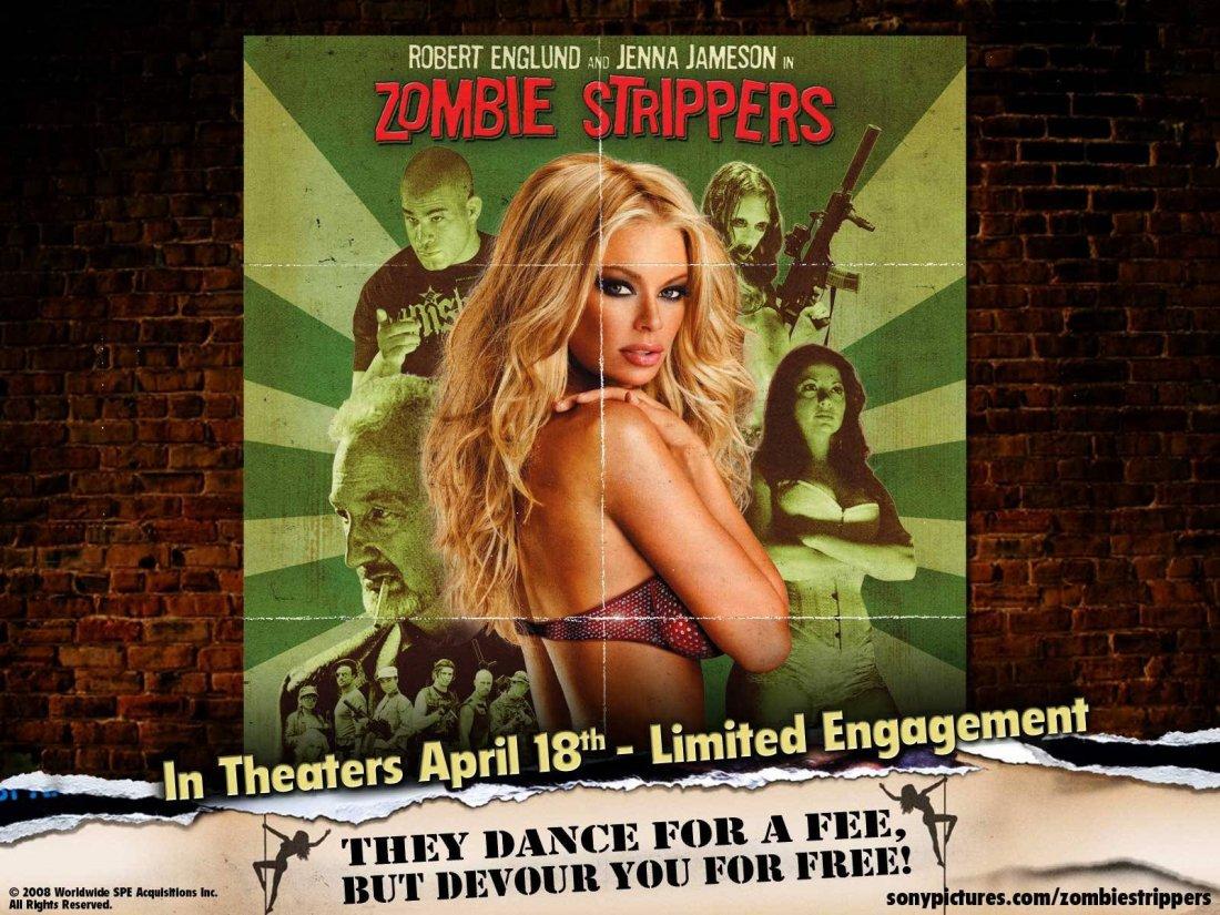 Un Wallpaper Del Film Zombie Strippers 97759