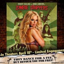 Un wallpaper del film Zombie Strippers