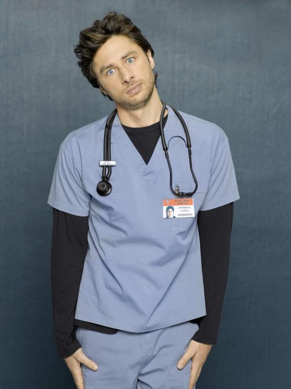 Una Posa Simpatica Di Zach Braff Per Una Foto Promozionale Dell Ottava Stagione Di Scrubs 97894