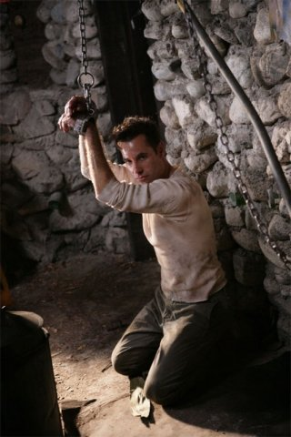 Adrian Pasdar in una scena dell'episodio The Eclipse : Part 2 di Heroes