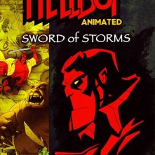 La locandina di Hellboy - La spada maledetta