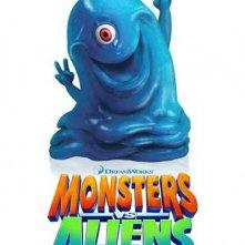 La locandina di Mostri contro Alieni