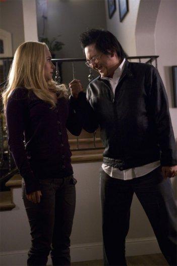 Masi Oka ed Hayden Panettiere in una scena dell'episodio The Eclipse : Part 2 di Heroes