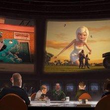 Un'immagine del film Mostri contro Alieni