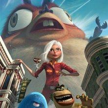 Un'immagine promozionale del film Monsters vs. Aliens