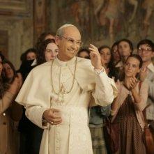 Fabrizio Gifuni nei panni di Papa Montini nella fiction Paolo VI - Il Papa nella tempesta