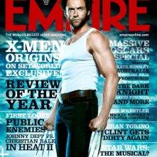 Hugh Jackman sulla copertina di Empire di gennaio 2009 nei panni di Wolverine.