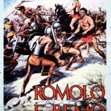 La locandina di Romolo e Remo