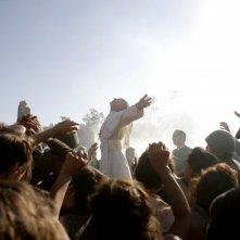 Un'immagine della fiction di RaiUno in due puntate Paolo VI - Il Papa nella tempesta