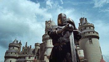 Una foto di scena della serie tv inglese Merlin