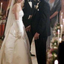 Alicia Ziegler e William Russ nell'episodio 'Amicizia e passioni' della quarta stagione di Wildfire