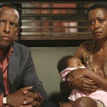 Dorian Harewood e Barbara Eve Harris nell'episodio 'Una visita inaspettata' della serie tv Private Practice