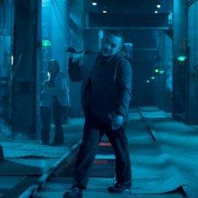 Doug Hutchison in una scena del film Punisher: War Zone