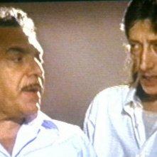 Franco Pistoni e Nino Frassica in un episodio di Don Matteo