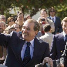 Frank Langella e Michael Sheen in una scena del film Frost/Nixon