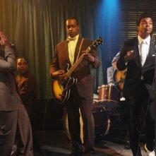 Jordan C. Haynes, Albert Jones e Jeffrey Wright in una scena del film Cadillac Records