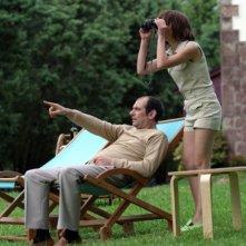 Karra Elejalde e Candela Fernández in una scena del film Timecrimes