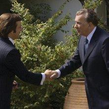 Michael Sheen e Frank Langella in un'immagine del film Frost/Nixon