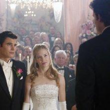Ryan Sypek e Alicia Ziegler in una scena dell'episodio 'Amicizia e passioni' della quarta stagione di Wildfire
