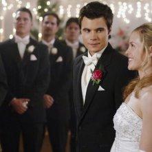 Ryan Sypek e Alicia Ziegler nell'episodio 'Amicizia e passioni' della quarta stagione di Wildfire