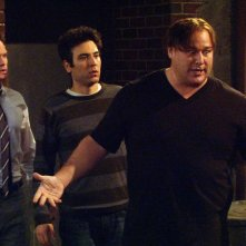Will Sasso, Neil Patrick Harris e Josh Radnor nell'episodio The Fight di How I Met Your Mother
