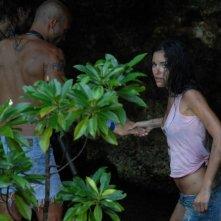 Lavinia Guglielman in una sequenza del thriller Deadly Kitesurf