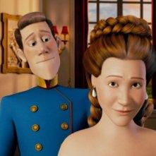 Un'immagine tratta dal film d'animazione tedesco Lissy - Principessa alla riscossa