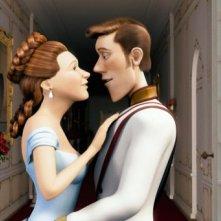 Una romantica immagine del film Lissy - Principessa alla riscossa