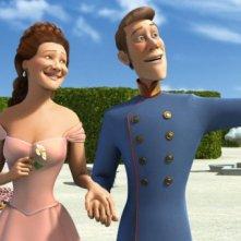 Una romantica scena del film Lissy - Principessa alla riscossa
