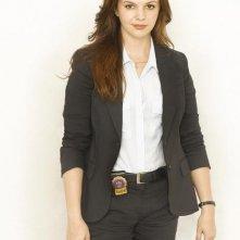 Amber Tamblyn in una foto promozionale della serie tv The Unusuals