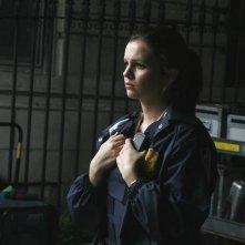 Amber Tamblyn in una scena del pilot di The Unusuals