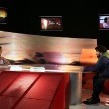 Carla Signoris e Giuseppe Battiston in una scena di Tutti pazzi per amore