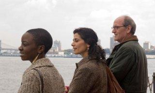 Danai Jekesai Gurira, Hiam Abbas e Richard Jenkins in una scena del film L'ospite inatteso