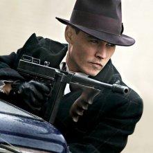 Johnny Depp nella prima immagine promozionale di Public Enemies pubblicata dal magazine Empire.