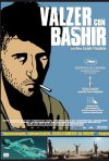 La locandina italiana di Valzer con Bashir