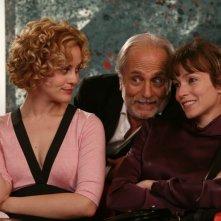 Marina Rocco, Luigi Diberti e Stefania Rocca in una scena di Tutti pazzi per amore