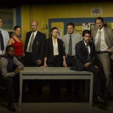 Una foto promozionale del cast della serie The Unusuals