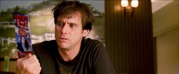 Jim Carrey in un'immagine del film Yes Man