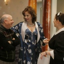 Wallace Shawn, Margaret Colin e Zuzanna Szadkowski nell'episodio O Brother, Where Bart Thou? di Gossip Girl