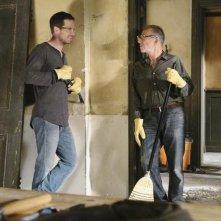 Ron Rifkin e  Luke MacFarlane nell'episodio 'Unfinished Business' della terza stagione di Brothers & Sisters