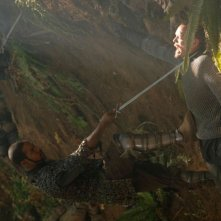 Brian J. White e Matthew Lillard in una scena del film In the Name of the King: A Dungeon Siege Tale