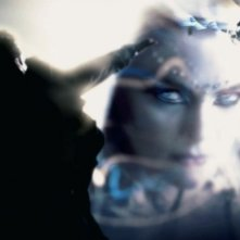 Jaime King in una sequenza del film The Spirit