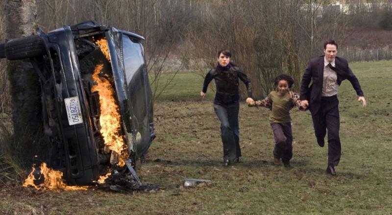 Jennifer Connelly Jaden Smith E Keanu Reeves In Una Scena Del Film Ultimatum Alla Terra 99252