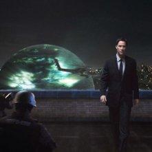 Keanu Reeves in una immagine del film Ultimatum alla Terra