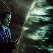Keanu Reeves in una scena del film Ultimatum alla Terra