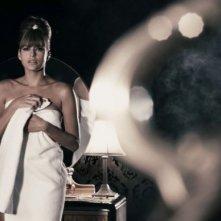L'avvenente Eva Mendes in una scena del film The Spirit