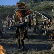 Ron Perlman in una scena del film In the Name of the King: A Dungeon Siege Tale