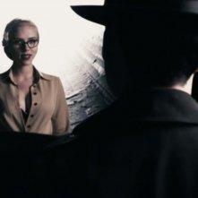 Scarlett Johansson in un'immagine di The Spirit diretto da Frank Miller