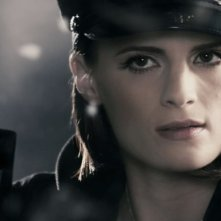 Stana Katic in una sequenza del film The Spirit